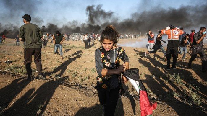 Polisi Israel Tembak Gadis Palestina di Yerusalem