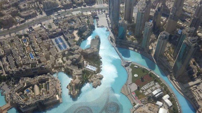 Wow! Menakjubkan, Ini 12 Foto dari Burj Khalifa Dubai, Gedung Tertinggi di Dunia