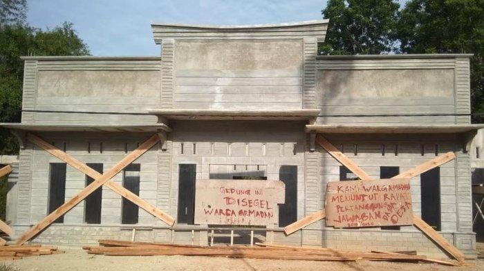 Warga di Aceh Utara Segel Bangunan Posyandu, Ini Sebabnya
