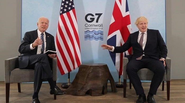 KTT G7 Digelar di Inggris, Bahas Krisis Iklim dan Pandemi