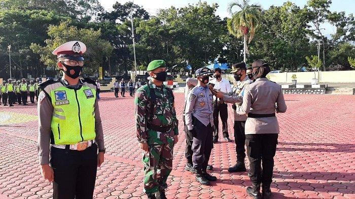 Polres Aceh Besar Apel Gelar Pasukan Ops Keselamatan Seulawah 2021