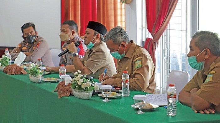 Bupati Aceh Besar Gelar Pertemuan dengan Muspika