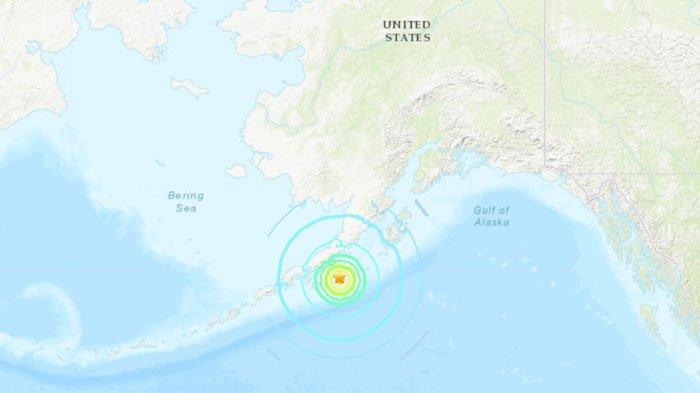 BREAKING NEWS - Gempa Bumi Berkekuatan M 8,2 Guncang Alaska Hari Ini