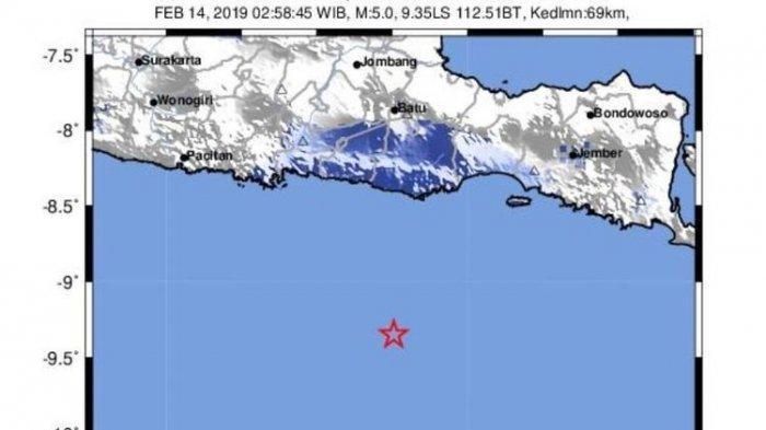 Gempa 2 Kali Guncang Samudra Hindia Selatan Jawa Hari Ini, Kita Perlu Waspada