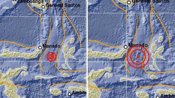 Gempa Bumi Magnitudo 7,1 Guncang Manado Sulawesi Utara, BMKG: Berpotensi Tsunami