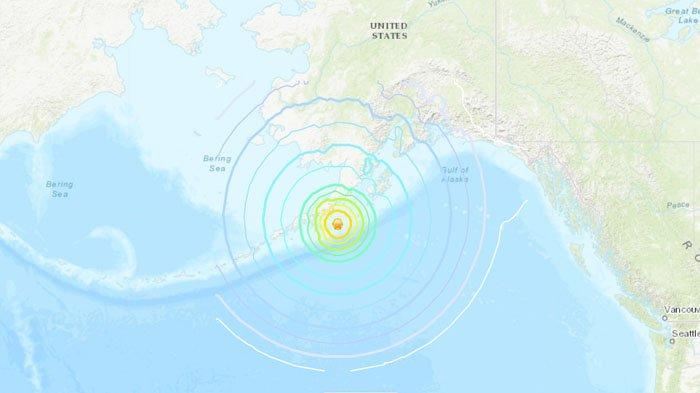 Gempa Dangkal 8,2 SR Guncang Alaska, Peringatan Tsunami Dikeluarkan, Warga Diminta Evakuasi Diri