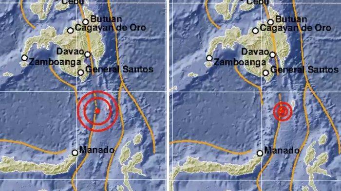 Gempa Bumi Magnitodu 5,5 Guncang Kepulauan Talaud Sulawesi Utara, Gempa Kedua Hari Ini
