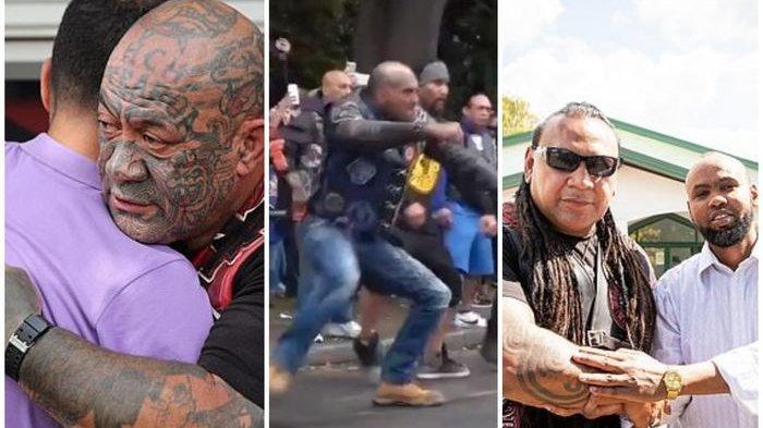 Agar Umat Muslim Bisa Shalat Jum'at dengan Aman, Geng Jalanan Selandia Baru Berjaga di Luar Masjid