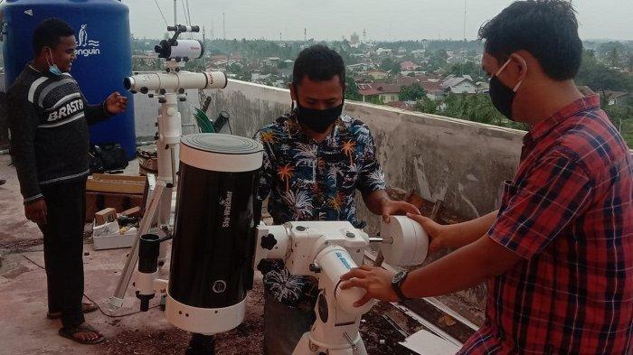 Di Kota Langsa, Gerhana Bulan Bisa Disaksikan Mulai Pukul 18.38 WIB, Terlihat Sebagian