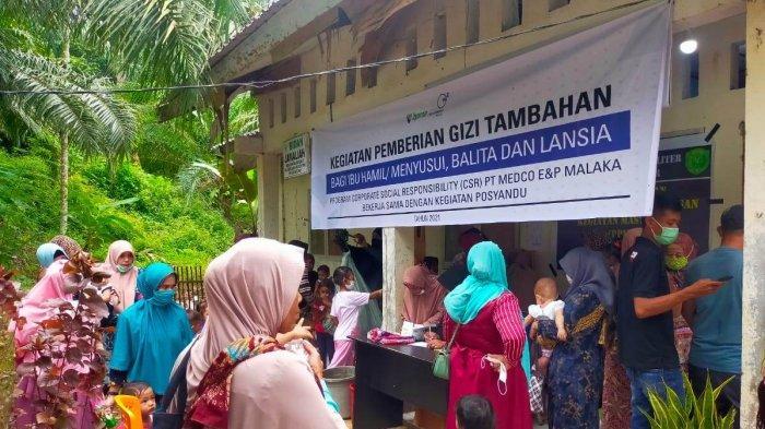 Medco Beri Penambahan Gizi untuk Lansia di Aceh Timur