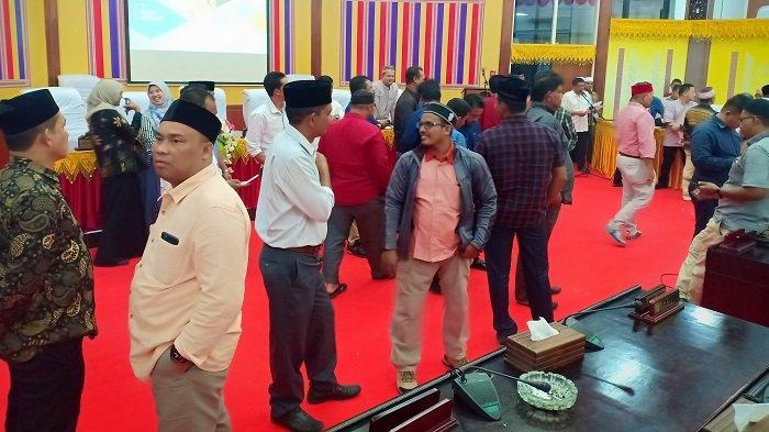 Tamu Pelantikan Anggota DPRK Aceh Utara tak Dizinkan Masuk Jika tak Bawa Ini