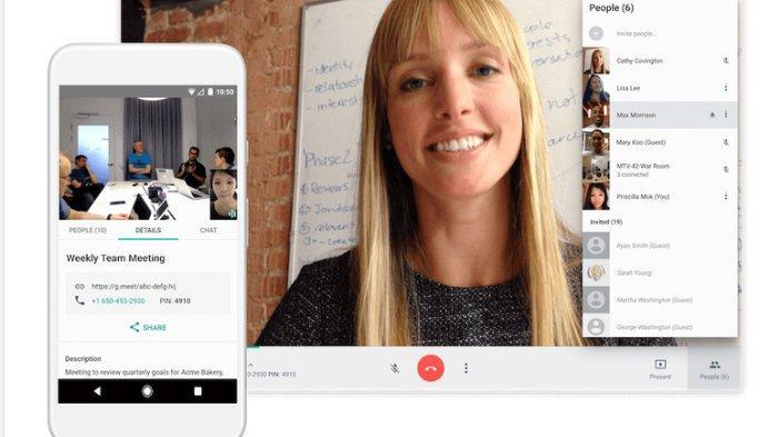 Mirip Dengan Zoom, Inilah 8 Fitur di Google Meet yang Bikin Meeting Online Lebih Mudah