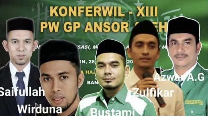 Hari Ini Konferwil GP Ansor Aceh, Lima Kandidat Mencuat