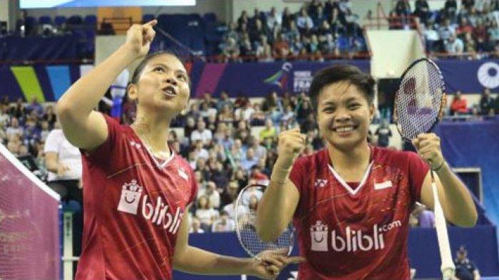 India Open 2018 - Kalahkan Unggulan 1, Greysia/Apriyani Rebut Tiket Final Pertama untuk Indonesia