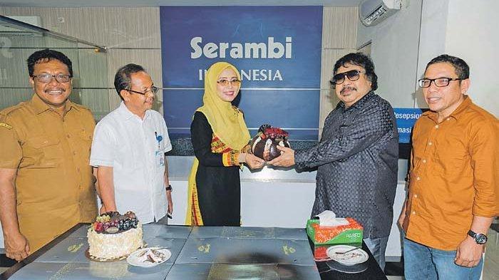 Cake dari Dyah untuk Serambi Indonesia