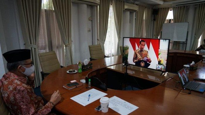 Gubernur Aceh Rakornas Secara Virtual dengan Presiden Jokowi Terkait Karhutla