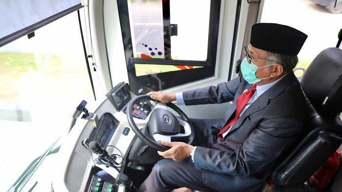 Gubernur Aceh Uji Coba Bus Listrik, Siap Beli 6 Unit untuk Transkoetaradja
