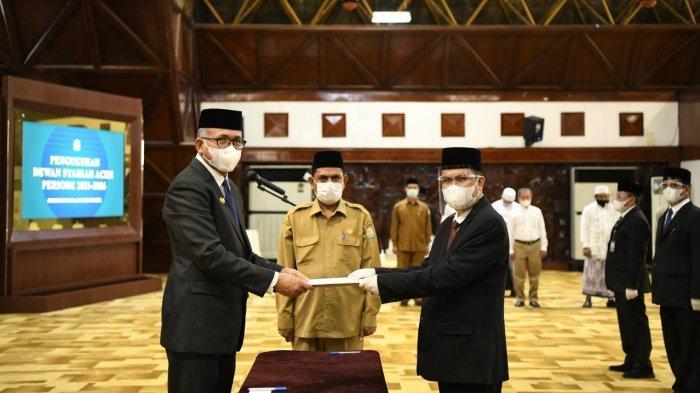Dewan Syariah Aceh Dikukuhkan, Bakal Awasi Kinerja Seluruh Lembaga Keuangan Syariah