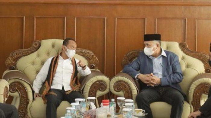 Sambut Kedatangan Menteri Investasi di Aceh, Gubernur Lapor Sejumlah Kemajuan Investasi