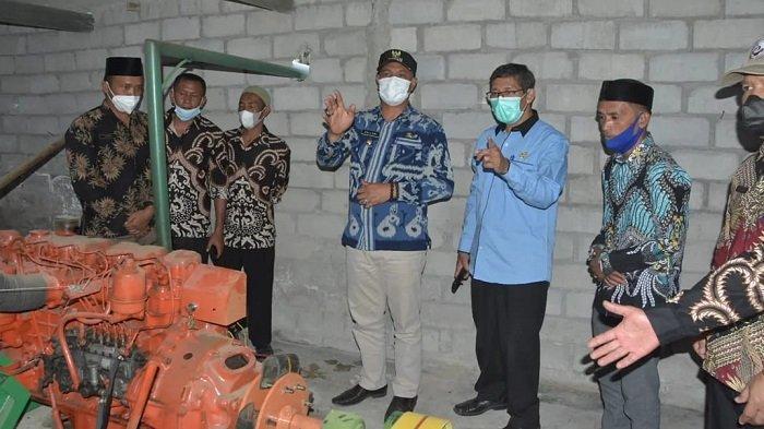 Plt Bupati Dailami Resmikan Gudang Holen di Kampung Muluem Bener Meriah