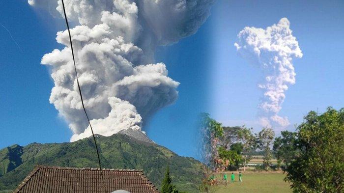 BREAKING NEWS Merapi Luncurkan Lava Pijar Minggu Malam, Aliran Mengalir ke Lereng Selatan