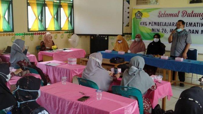 34 Guru MIN di Bireuen Ikuti KKG Pembelajaran Tematik Terpadu