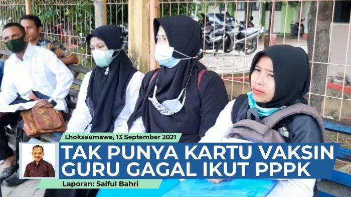 1.207 Guru Aceh Besar Perebutkan 508 Formasi