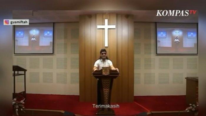 Dituding Kafir dan Sesat karena Orasi di Gereja, Gus Miftah: Iman Saya Masih Utuh