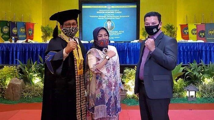 HRD: Hasil Akumulasi Prestasi, Gus Menteri Desa PDTT Dapat Gelar Doktor Kehormatan
