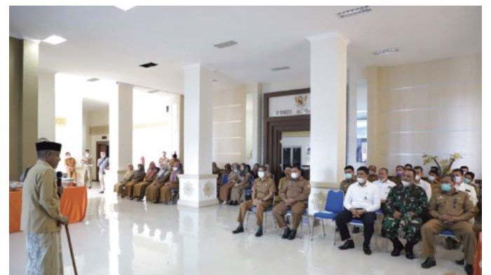 Wabup Aceh Besar Minta ASN Tingkatkan Semangat Kerja