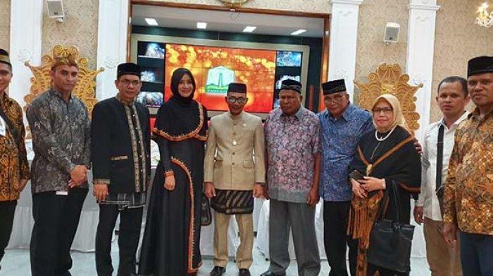 Hadir dengan Tampilan Bernuansa Aceh, Haji Uma Apresiasi Festival Budaya Aceh 2019 di Bogor