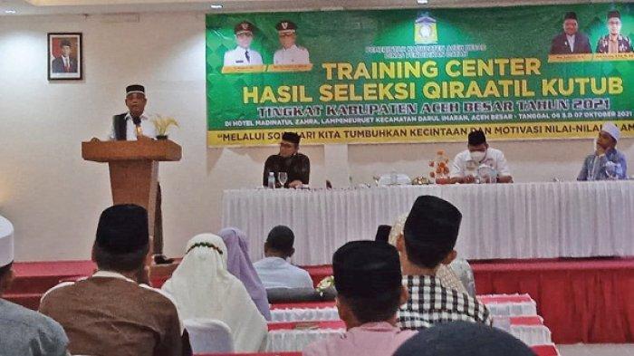 Wabup Aceh Besar Buka TC Hasil Seleksi Qiraatil Kutub