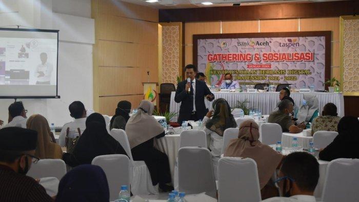 Bank Aceh Syariah Lhokseumawe Merdeka Gelar Sosialisasi Kewirausahaan Berbasis Digital