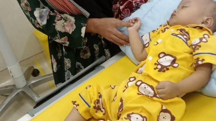 Terjebak PPKM di Jakarta, Balita Bocor Jantung asal Aceh Tamiang tidak Dirawat di RS