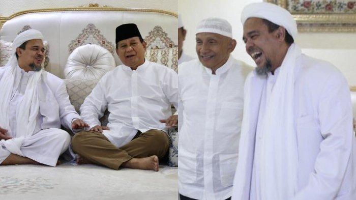 TKN Tantang Habib Rizieq Shihab hingga Amien Rais untuk Mubahalah, Alasannya?