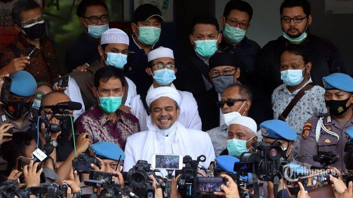 Di Polda Metro Jaya, Kuasa Hukum Sebut Habib Rizieq Siap Jika Ditahan