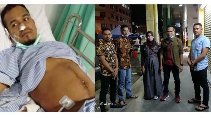 Haji Uma Kembali Bantu Pemulangan TKI Aceh Setelah Operasi Usus Buntu di Malaysia