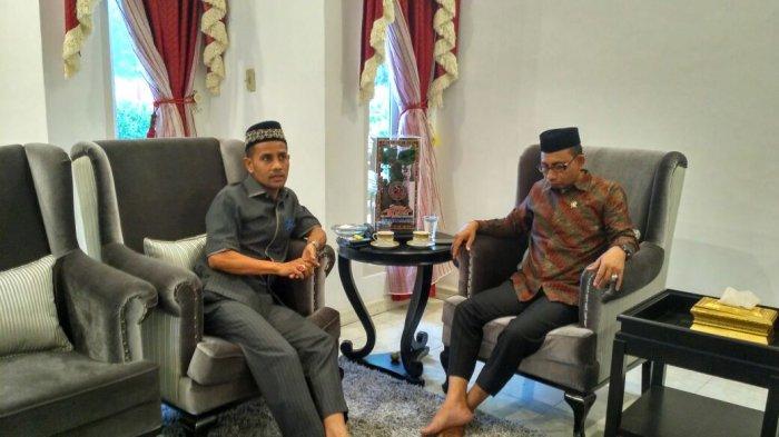 Haji Uma Bertemu Ketua DPRA, Ini yang Dibahas
