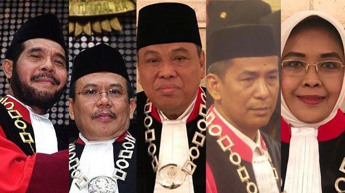 Jelang Sidang MK, Ini Profil 9 Hakim Mahkamah Konstitusi Penentu Akhir Pemenang Pilpres 2019