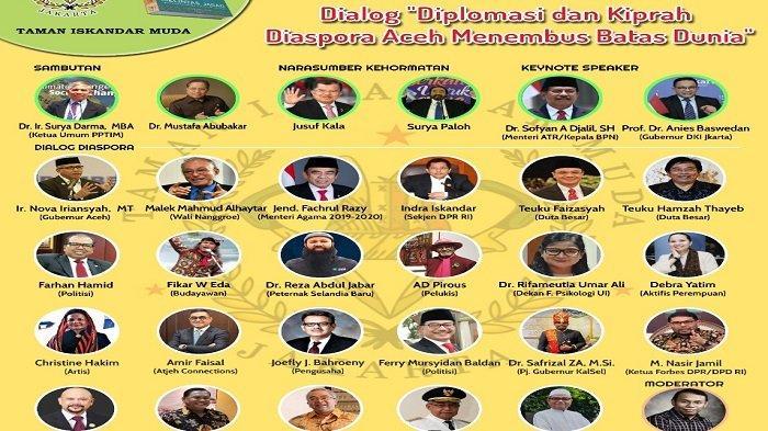 Halal Bihalal Virtual Diaspora Aceh Dihadiri Jusuf Kalla dan Anies Baswedan