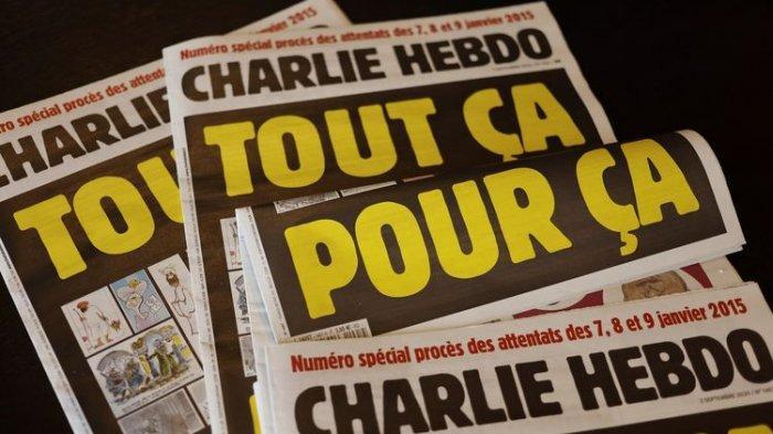 Majalah Charlie Hebdo Umumkan Bakal Cetak Ulang Karikatur Nabi Muhammad, Pakistan Kecam