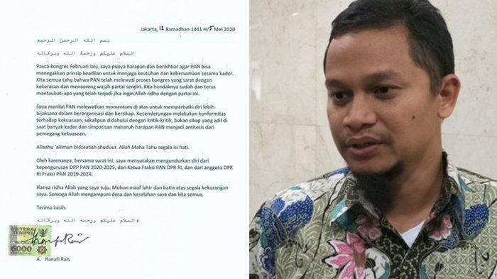 Putra Amien Rais Hengkang dari PAN dan DPR, Pengurus Partai Belum Terima Surat Resmi