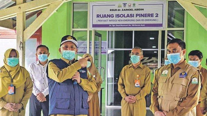Kasus Positif Covid-19 di Aceh Terus Meningkat, 91 Pasien Masih Dirawat di RSUZA
