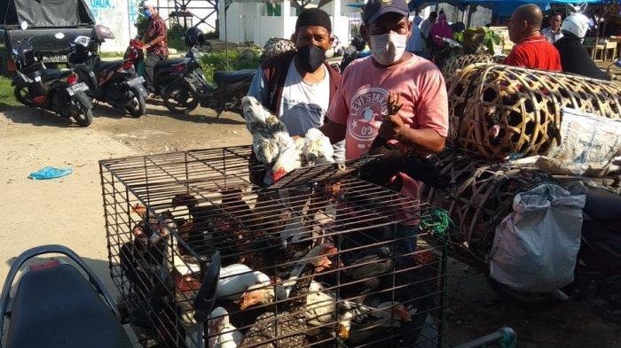 Hari Meugang Pertama di Bireuen, Tak Hanya Daging, Harga Ayam dan Bebek juga Ikut Naik