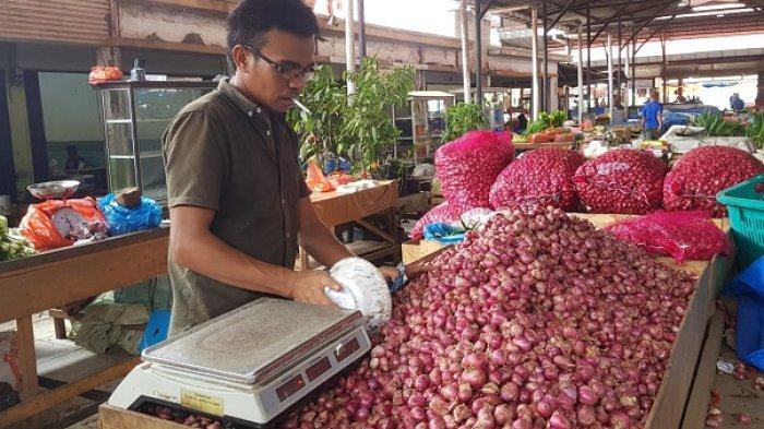 Pidie, Pidie Jaya, Bireuen & Bener Meriah Panen Bawang Merah, Harga Anjlok, Ini Harga di Banda Aceh