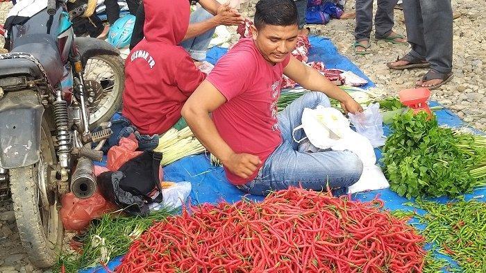 Hari Meugang Idul Fitri di Abdya, Cabai Merah Sentuh Harga Rp 80.000 Per Kilogram