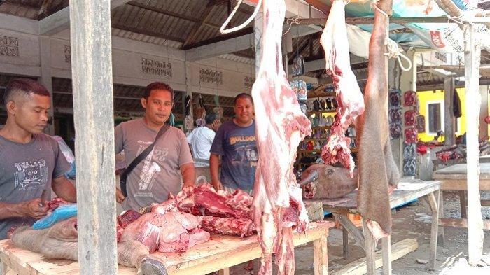 Harga Daging Meugang di Aceh Selatan, Ini Sebab Harga Jual Mahal Menurut Pedagang