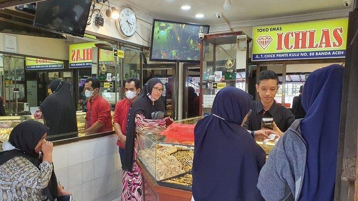Harga Emas Turun Rp 70.000/Mayam, Segini Harganya di Banda Aceh, Termurah dalam Tiga Bulan Terakhir