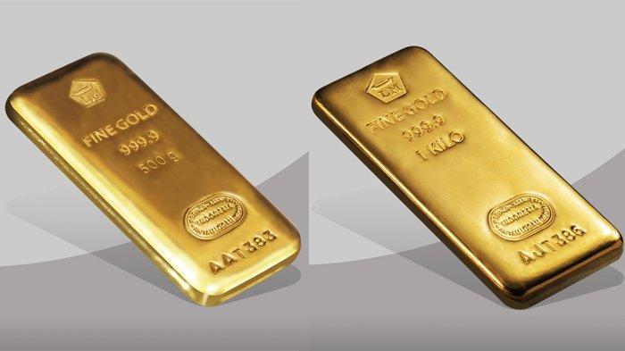 Hari Ini Harga Emas Antam Turun Rp 8.000, Per Gram Rp 922.000