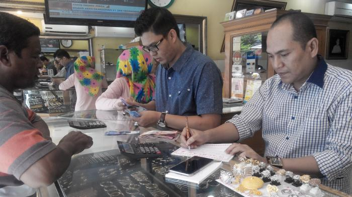 Harga Emas Di Banda Aceh Hari Ini Rp 2 590 000 Mayam Warga Ramai Ramai Membeli Untuk Investasi Serambi Indonesia